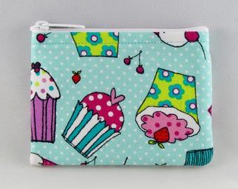 Copious Cupcake Coin Purse - Coin Bag - Pouch - Accessory - Gift Card Holder