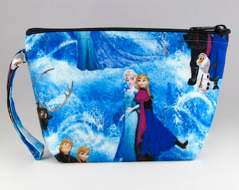Frozen Makeup Bag - Disney Frozen - Accessory - Cosmetic Bag - Pouch - Toiletry Bag - Gift