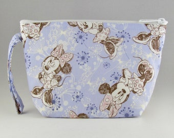 Minnie Mouse Makeup Bag - Accessory - Cosmetic Bag - Pouch - Toiletry Bag - Gift