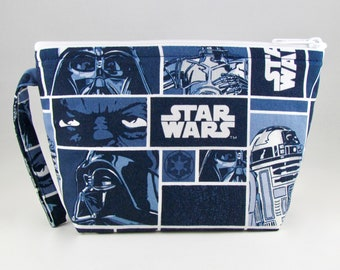 Star Wars Panels Makeup Bag - Accessory - Cosmetic Bag - Pouch - Toiletry Bag - Gift