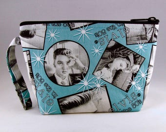 Elvis Makeup Bag - Accessory - Cosmetic Bag - Pouch - Toiletry Bag - Gift