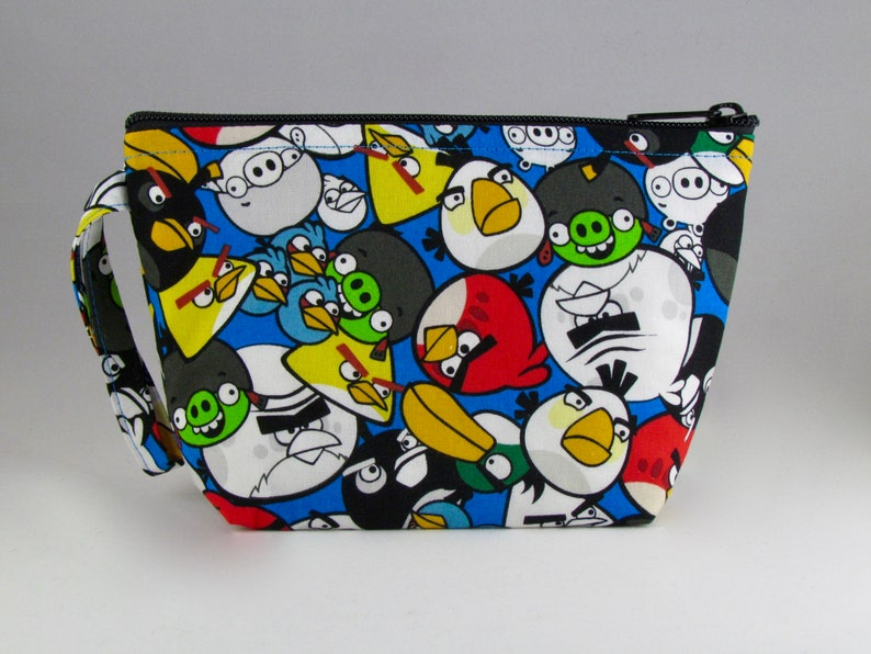 afcbe2cfc3 Angry Birds Makeup Bag Accessory Cosmetic Bag Pouch