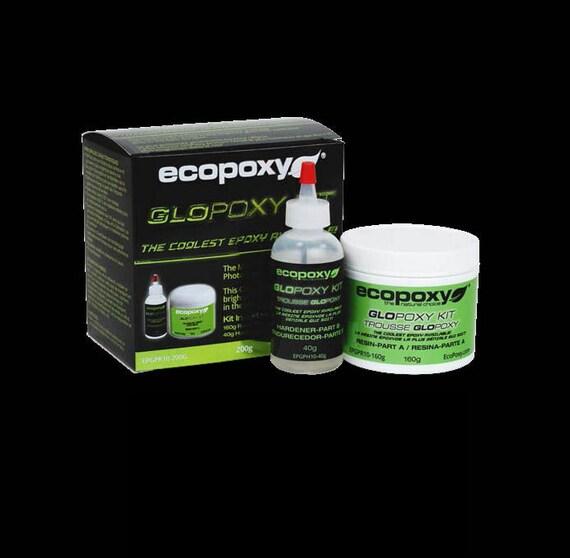ecopoxy glopoxy kit glow in the dark epoxy coating resin. Black Bedroom Furniture Sets. Home Design Ideas