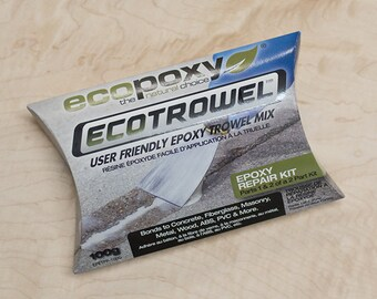 EcoPoxy Eco Trowel   Repair Kit   Vertical Epoxy   Resin Art   Troweling Resin   Epoxy Resin   No Drip   Adhesive   Composite