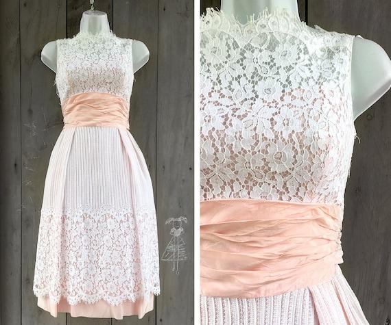 Vintage dress | 1960s lace dress, midcentury party