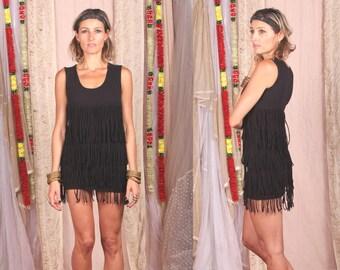 Little Black Dress, Black Dress, Fringe Dress, Fringe, Mini, Black, Tassel, Party, Short, Dancing, Dance Floor, Dancer, Fringe Clothing