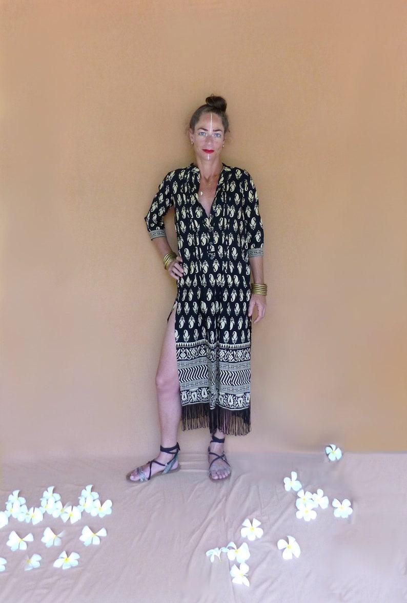 Hippie Maxi Dress Resort Wear image 0