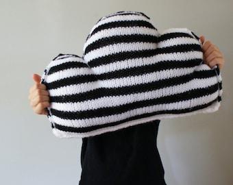 "DIY Knitting PATTERN - Cloudy Cushion - 11"" x 16"" (2016016)"