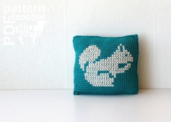 Diy Crochet Pattern Learn To Tunisian Crochet Woodland Etsy
