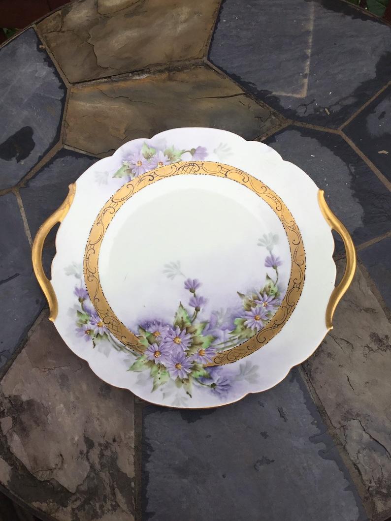 3 Limoges France Pin Cushion porcelain hand painted rose design NEW Vintage