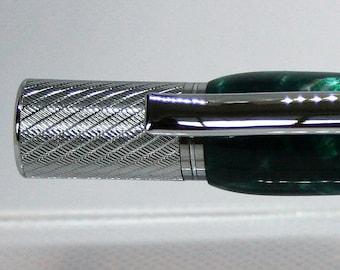 Handcrafted Chrome Plated Pensar Ballpoint Twist Pen (BP39)