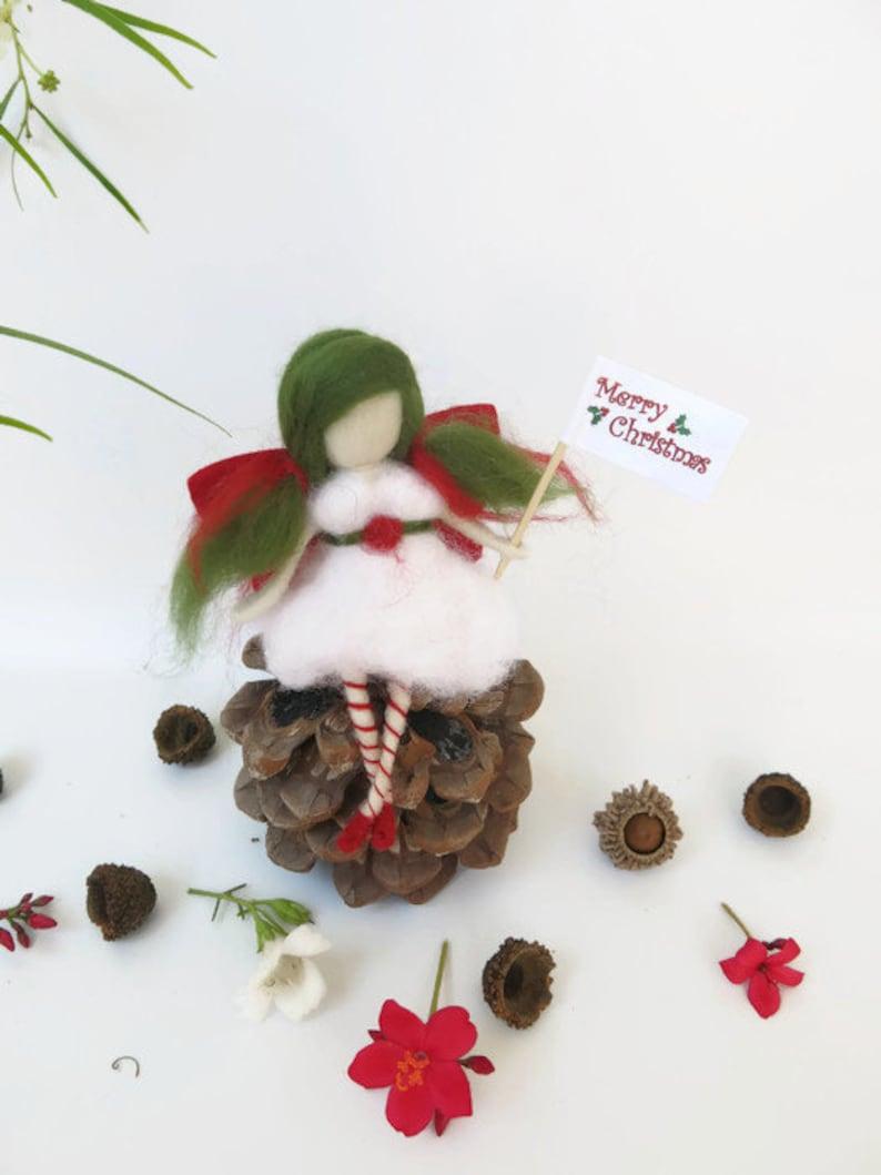 Christmas Ornaments Handmade Christmas Fairies Christmas Etsy