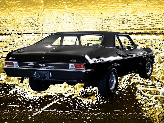 1969 Chevy Nova Ss Yenko Chevy Nova Muscle Car Photo Etsy