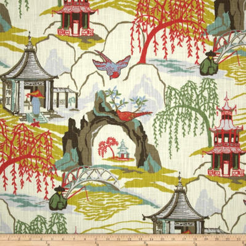 Curtains Robert Allen Neo Toile Drapes from small window curtains through extra long drapes  2 story curtains choose your length