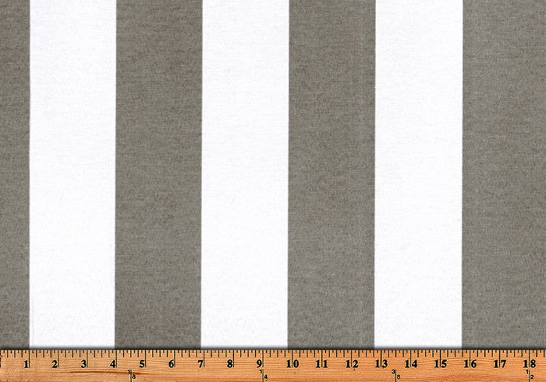 Any length Sand Stripe Indoor Outdoor Stripe Curtains Custom Made curtains from small window curtains through extra long curtains you choose