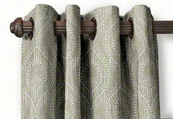 Custom Made Drapes Tradewinds Ocean Fabric From small window Curtains to 2 Story extra long drapes Custom Made designer Drapes