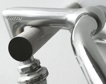wall mounted bike rack, bicycle storage, wooden bike hook // OAK WOOD // BLACK