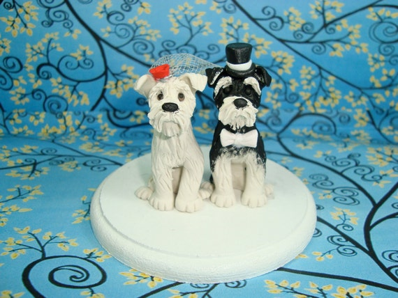 wedding cake toppers with dog uk custom wedding cake topper etsy 26632