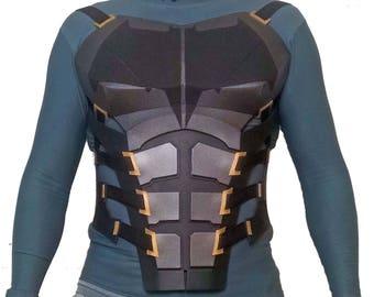 DIY Batman Justice League Chest Foam Armor Tutorial Kit - Includes Patterns, Tutorial Videos, and Materials List