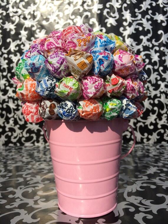 Baby Pink Dum Dum Lollipop Bouquet / Centerpiece | Etsy