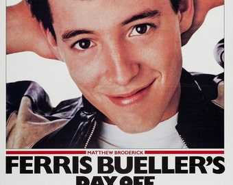 Ferris Bueller's Day Off ,US One Sheet (27x41in) 1986 Original Vintage Movie Poster