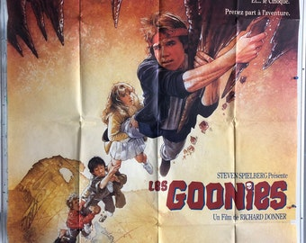 The Goonies, 1985 French Grande (47x63in aprox.) Original Vintage Movie Poster