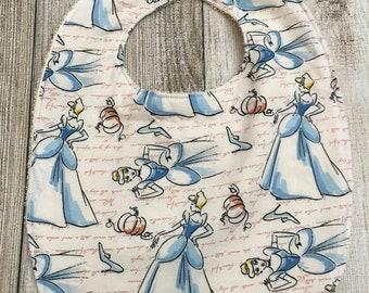 Disney Cinderella Bib