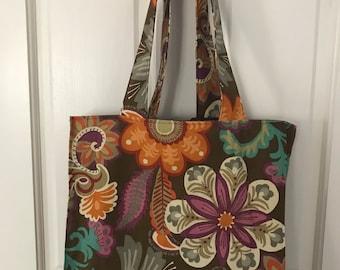 Flower Reusable Shopping Bag