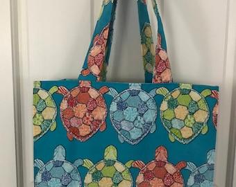 Turtle Reusable Shopping Bag
