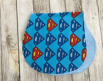 Superman Burp Cloth