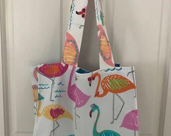 Flamingo Reusable Shopping Bag