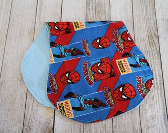 Spiderman Burp Cloth