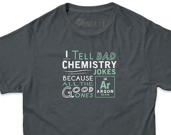 Funny Science T shirt   Argon Chemistry Joke T-shirt   Funny Chemistry tshirts   Math Science and Chemistry Jokes t shirts