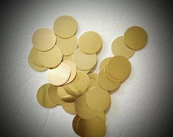 16mm Round Brass Disc (20pcs) USA Seller