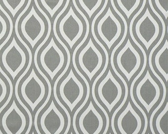 Nicole Storm Grey and White - Premier Prints Home Decor Fabric By The Yard