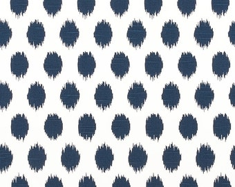 Premier Prints JoJo Premier Navy Slub Fabric Home Decor Weight Fabric by the yard - Same Day Shipping