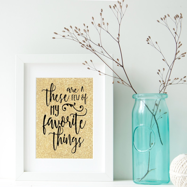 My Favorite Things Digital Print image 0