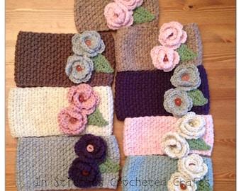 Crochet Ear Warmer - The Braelyn Warmer