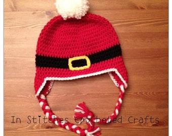Santa Belt Hat