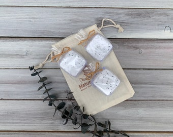 Sinus Relief Aromatherapy Shower Tablets,  All Natural Eucalyptus Spearmint Shower Steamers Set of 3