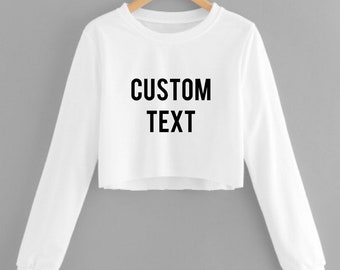 3073f3aecb4 Personalized croptop