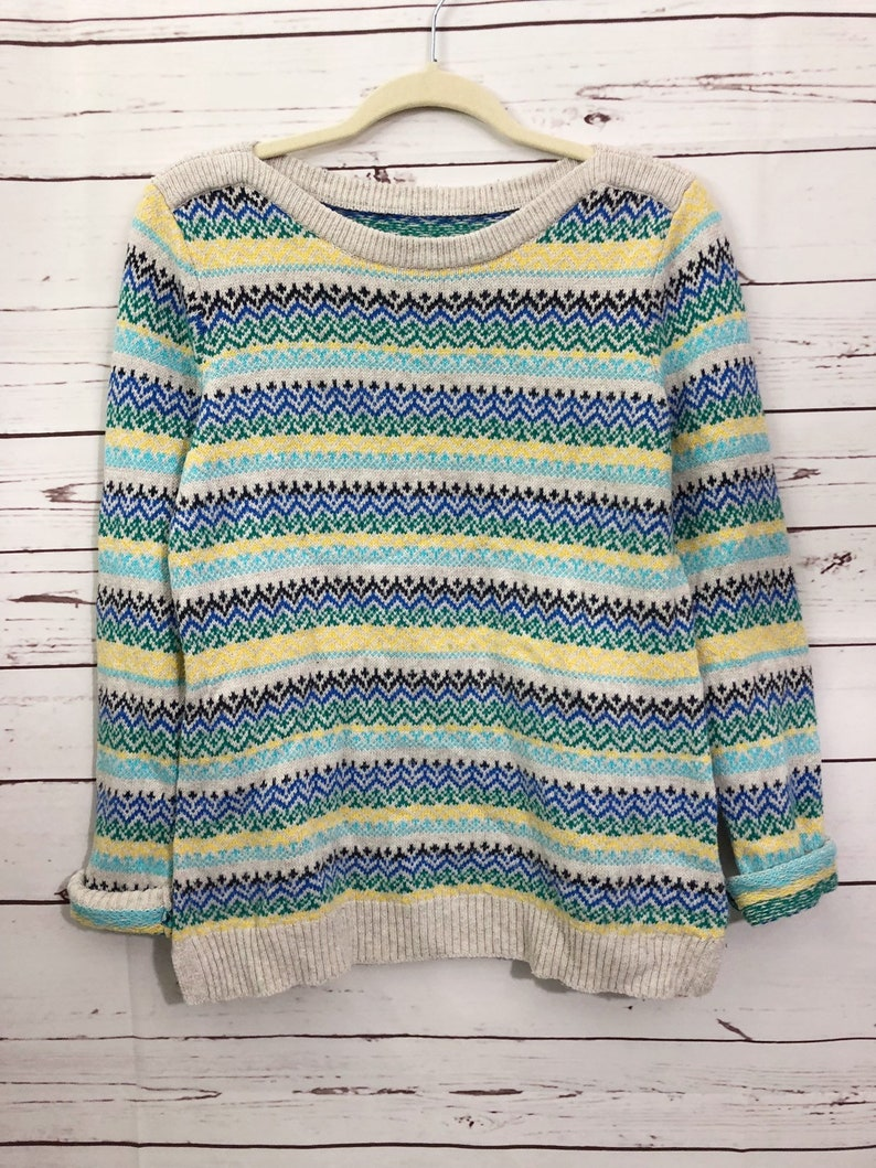 2e0b9ecdcfa5 Vintage Oversized Sweater cuffed
