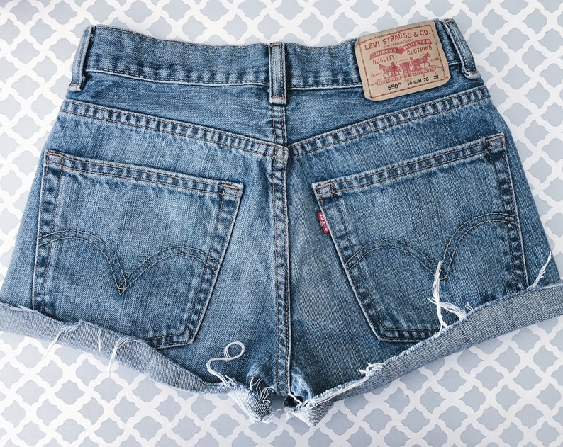5a9cbb35 Distressed LEVIS shorts Sexy levis shorts Distressed levis | Etsy