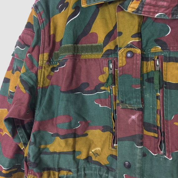 M90 Jigsaw Camo Camouflage Parka Combat Jacket Belgian Army Sizes S M L XL
