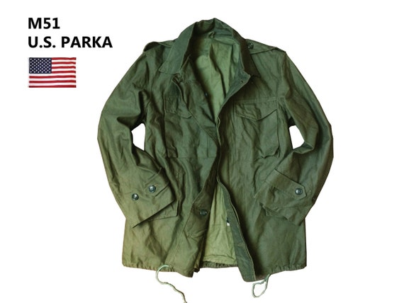 M51 NATO U.S. Army Military Green Parka Jacket  09071179cc3