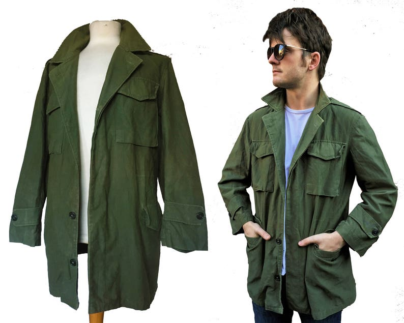 ff250a734f2 M51 U.S. Army Military NATO Green Parka Jacket