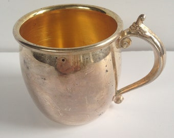 F R Rodgers Silverplate Childs Cup