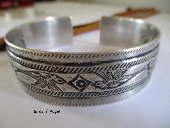 Berber bangle bracelet silver Egypt Libya Tunisia