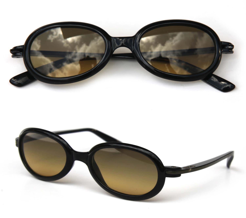 CherryRevolver Rare KENZO YUKO lunettes de soleil ovale épais   Etsy 49ff6a2eb46c