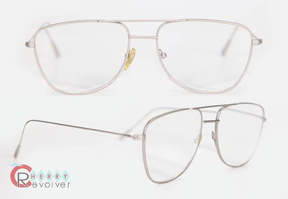 372cbbadf87 cherryREVOLVER Vintage Silver Wire Aviator Mens Eye Glasses